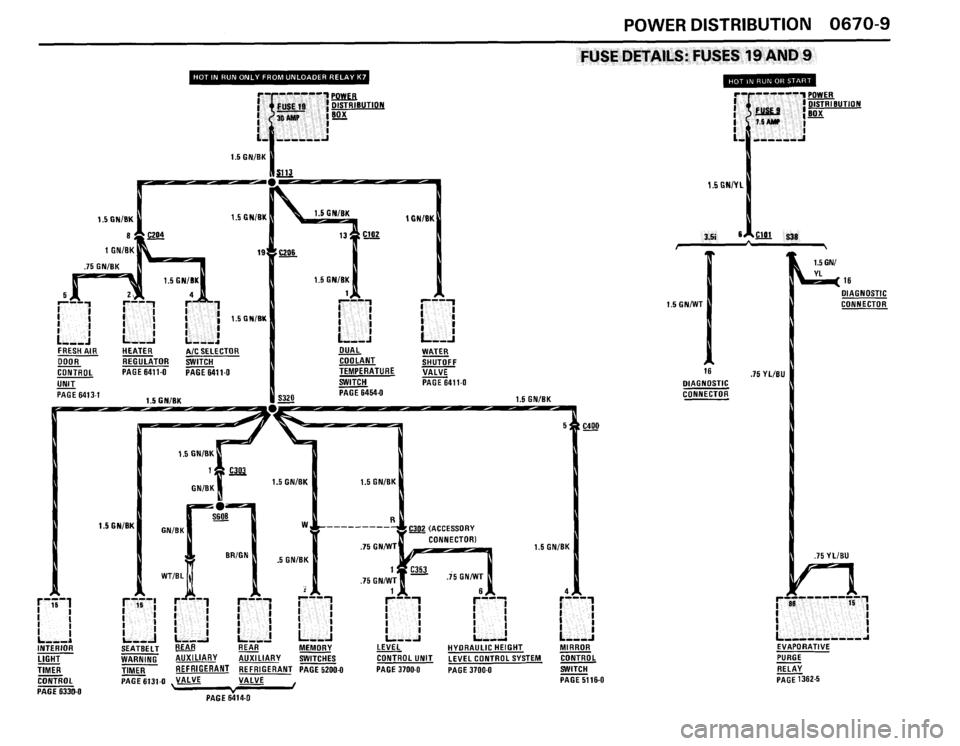 BMW 635csi 1988 E24 Electrical Troubleshooting Manual (192