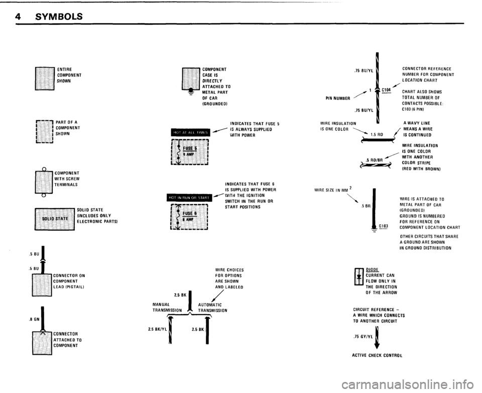 BMW 528e 1985 E28 Electrical Troubleshooting Manual