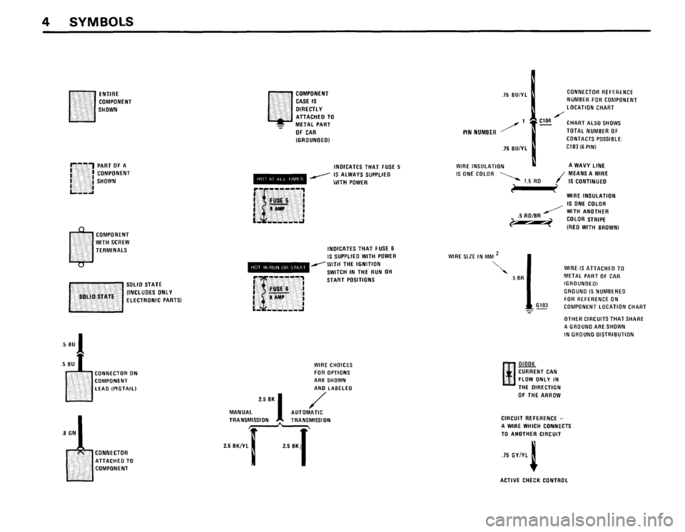BMW 535i 1986 E28 Electrical Troubleshooting Manual