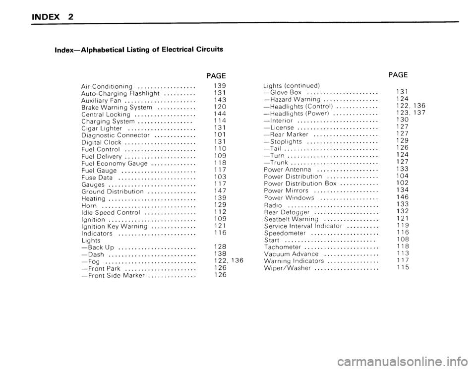 BMW 318i 1984 E30 Electrical Troubleshooting Manual