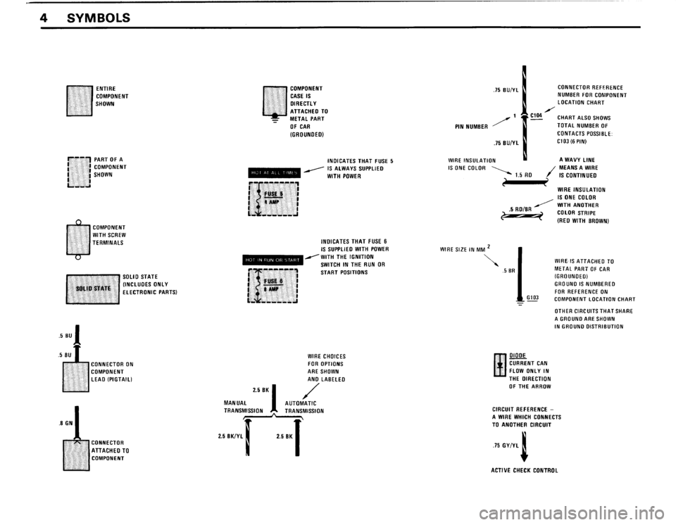 BMW 325is 1989 E30 Electrical Troubleshooting Manual