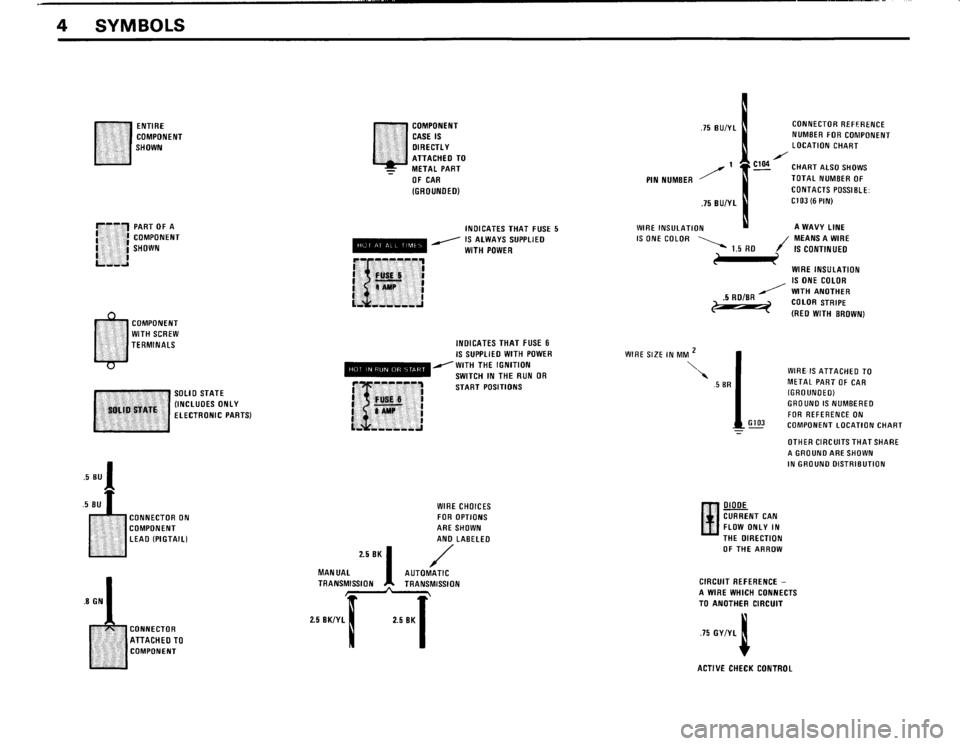 BMW 325i 1989 E30 Electrical Troubleshooting Manual