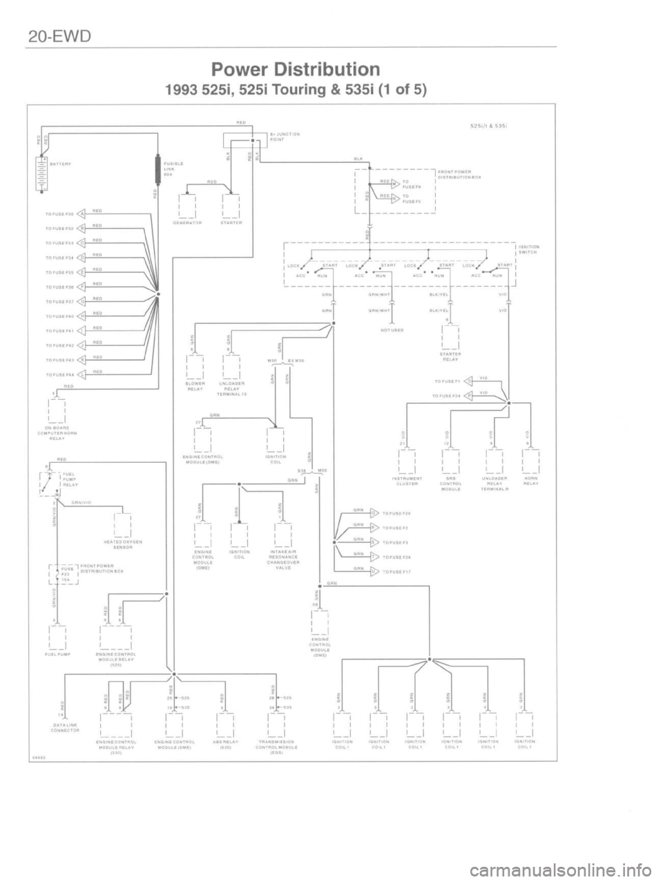 BMW 328i 1996 E36 Workshop Manual (459 Pages), Page 450: