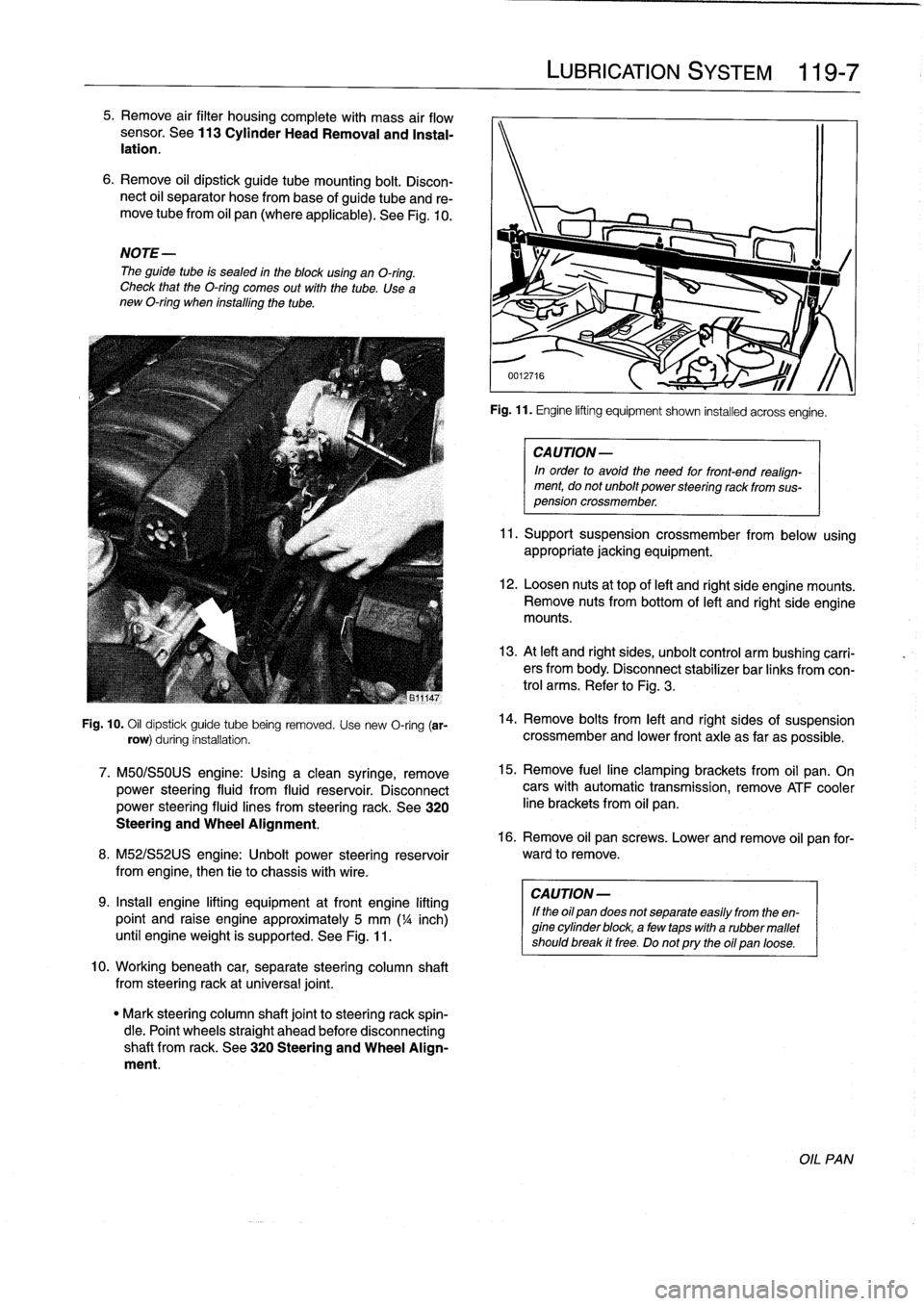 BMW 325i 1992 E36 Workshop Manual