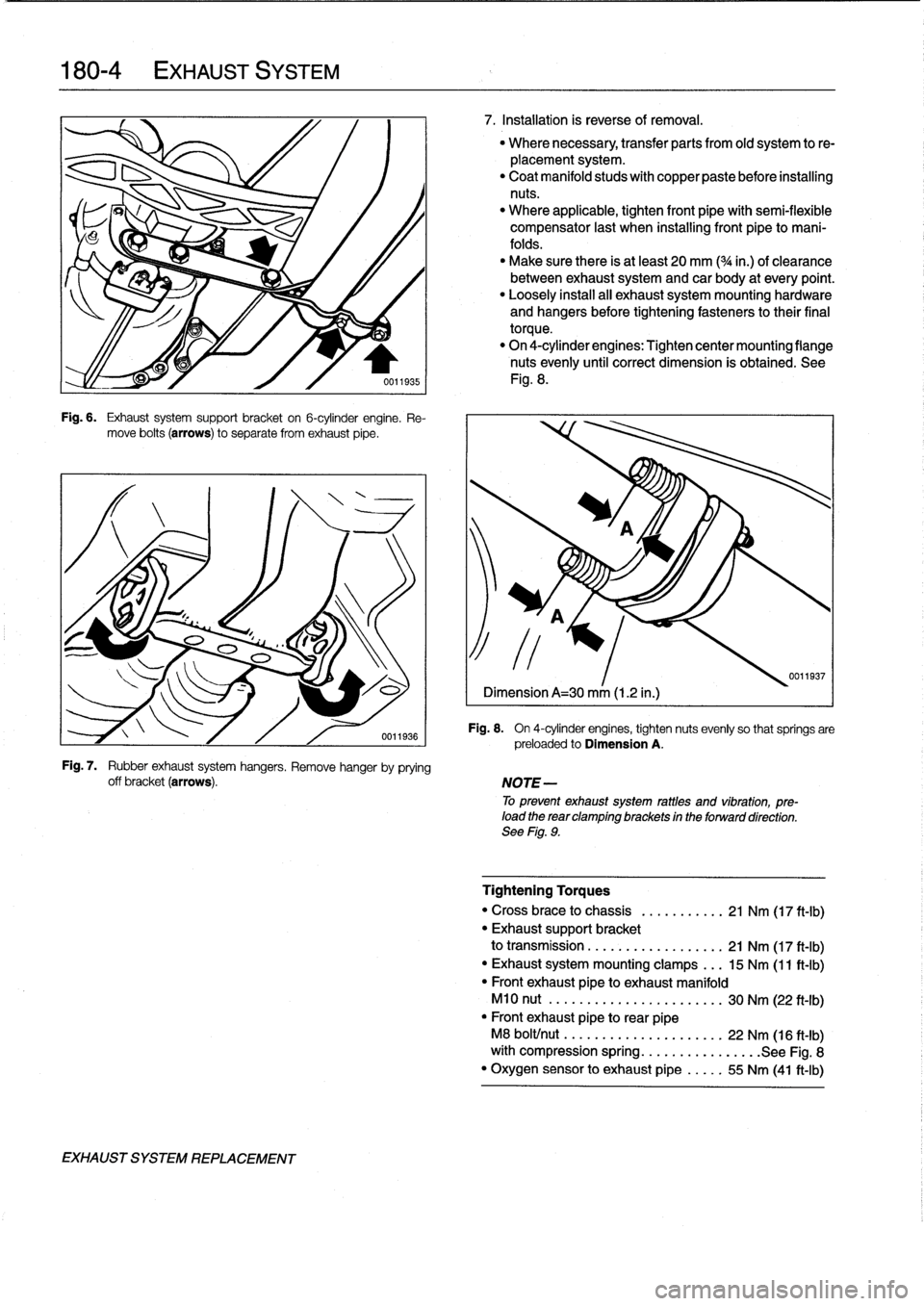 BMW 328i 1997 E36 Workshop Manual (759 Pages), Page 210: 5