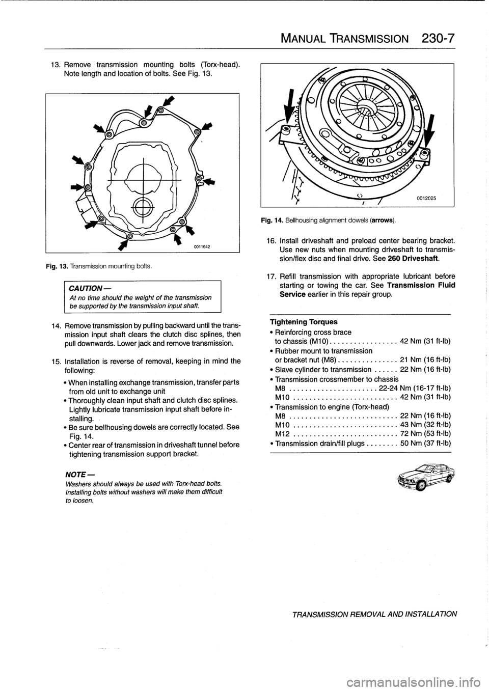 BMW M3 1998 E36 Workshop Manual