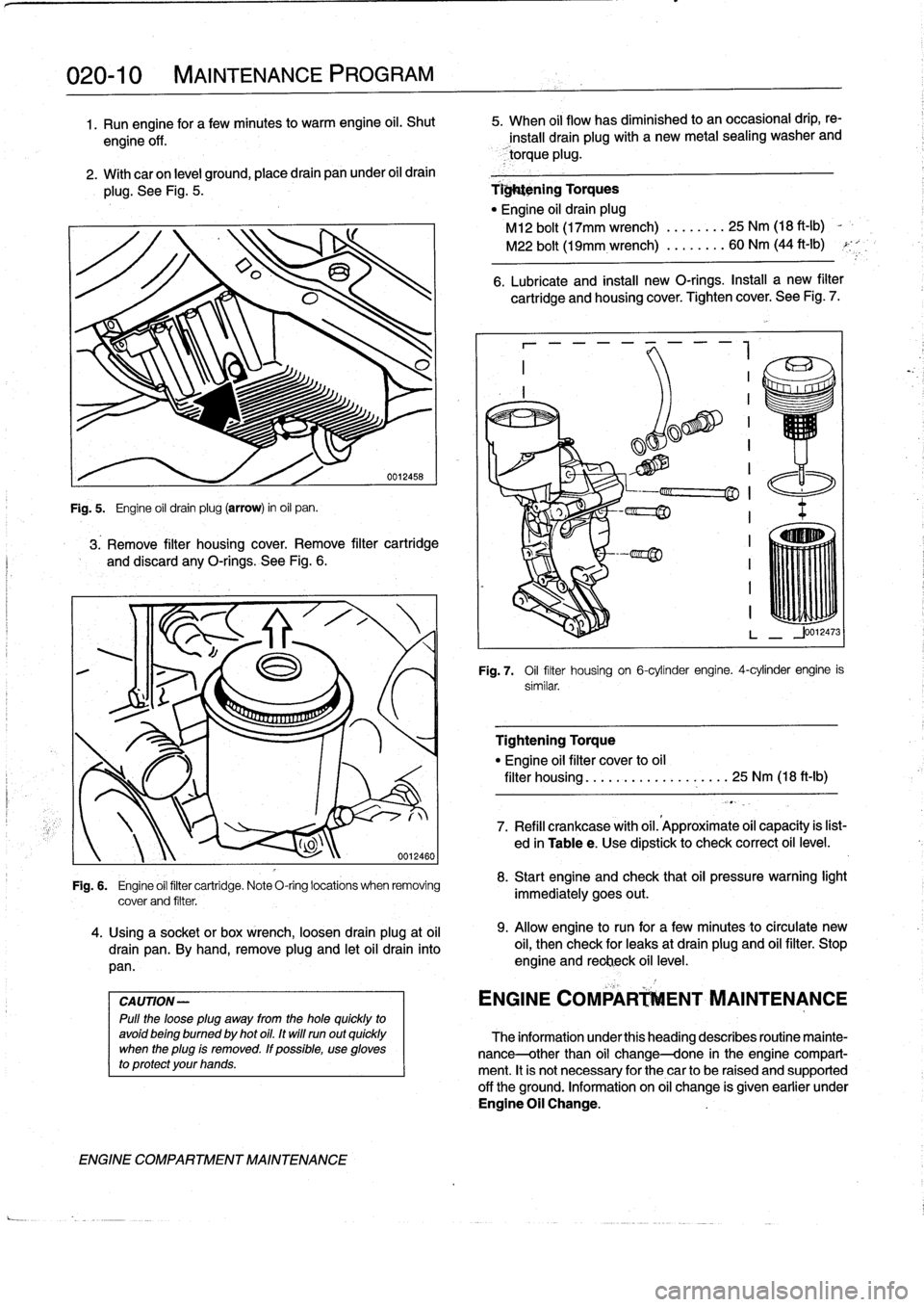 BMW M3 1996 E36 Workshop Manual