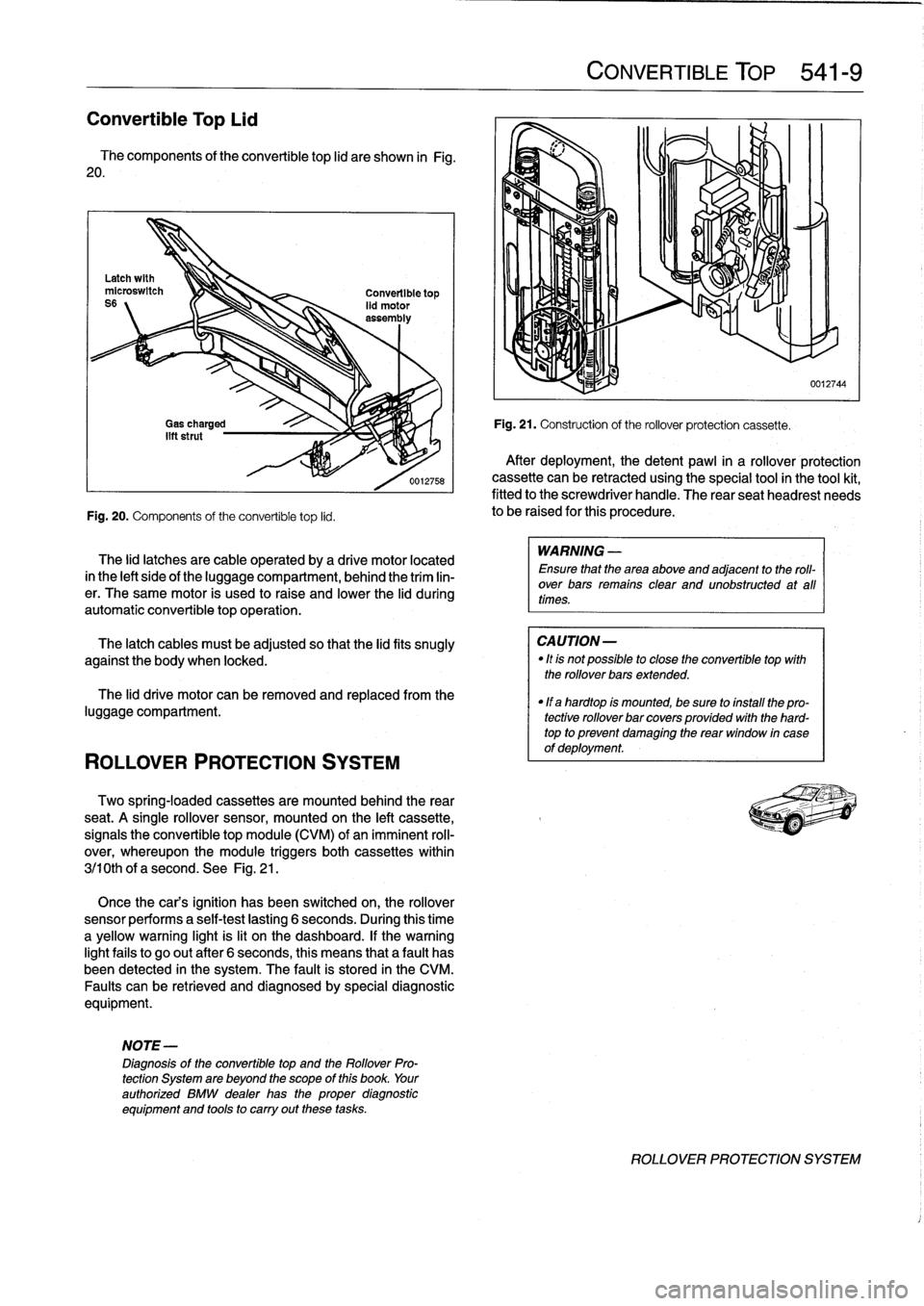 BMW 325i 1992 E36 Workshop Manual