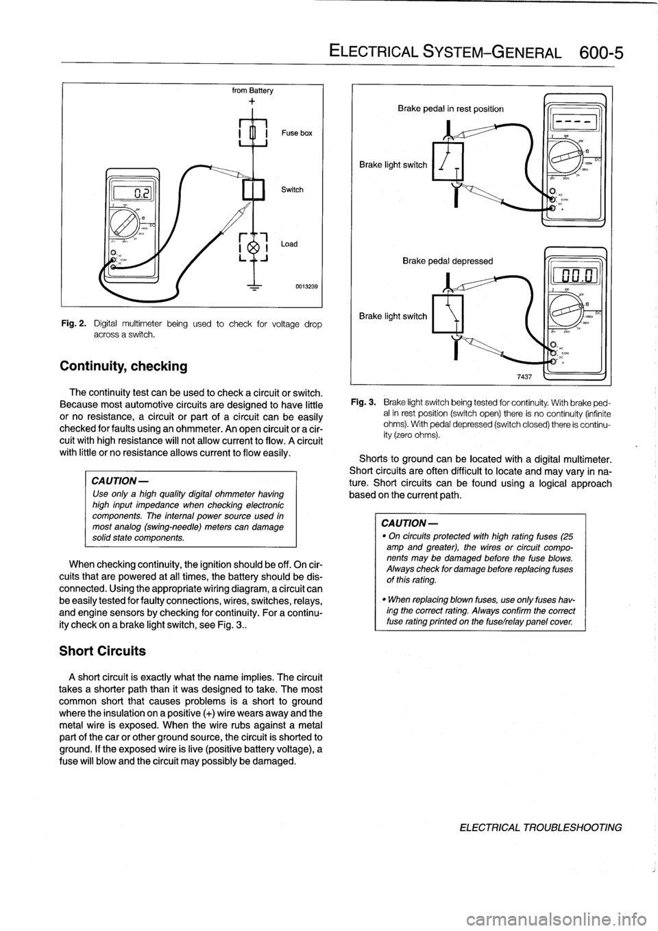 BMW 328i 1997 E36 Workshop Manual (759 Pages), Page 390