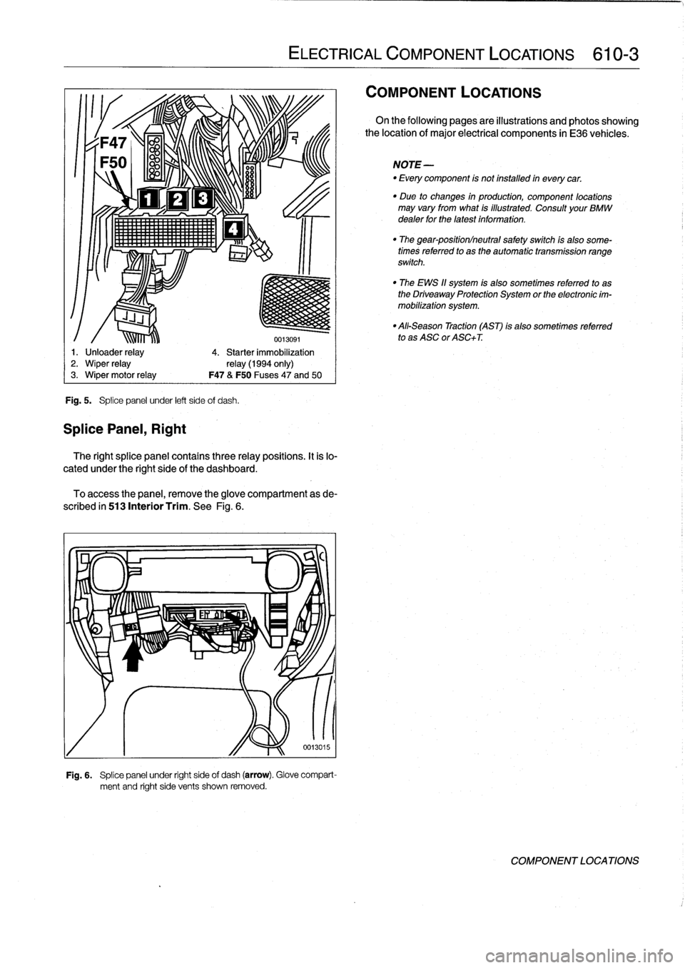 BMW 328i 1997 E36 Workshop Manual