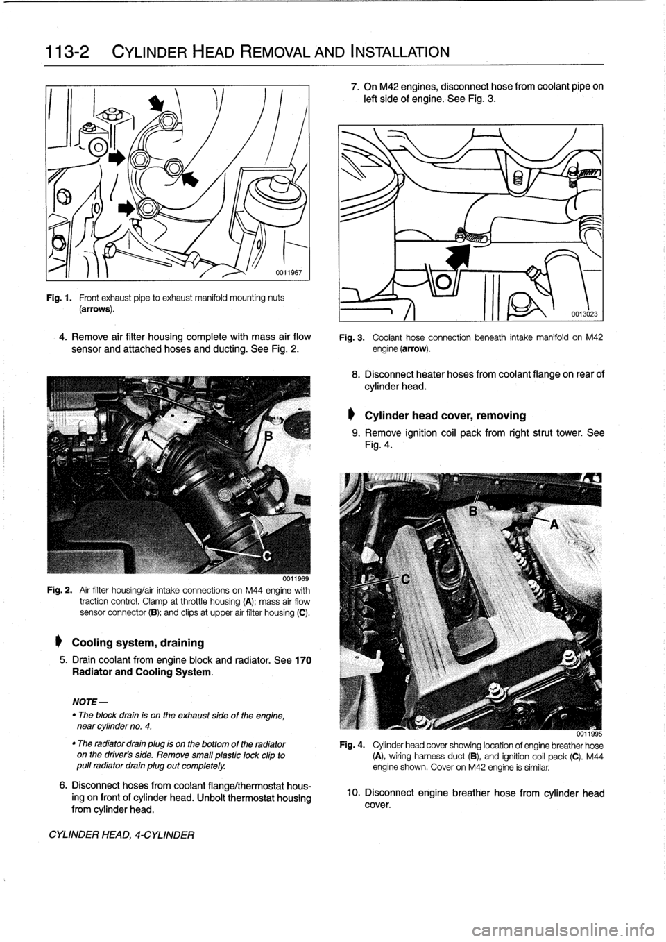traction control BMW 328i 1995 E36 Workshop Manual