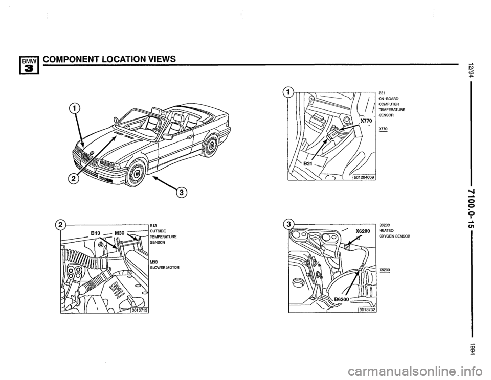 BMW 325i 1994 E36 Electrical Troubleshooting Manual