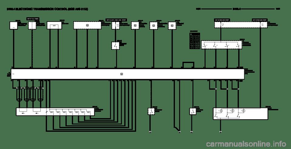 BMW 328i 1999 E36 Electrical Troubleshooting Manual