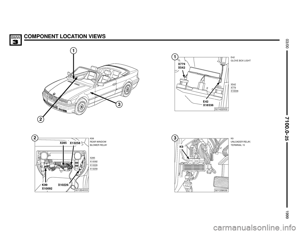 BMW M3 1999 E36 Electrical Troubleshooting Manual