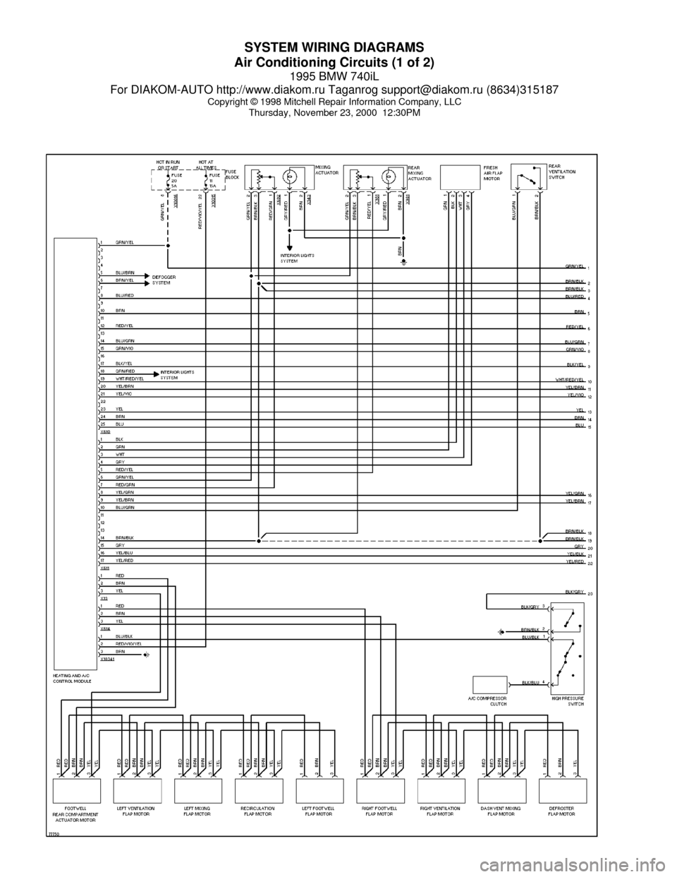 bmw e38 dsp wiring diagram electrical diagrams for dummies 740il 1995 system