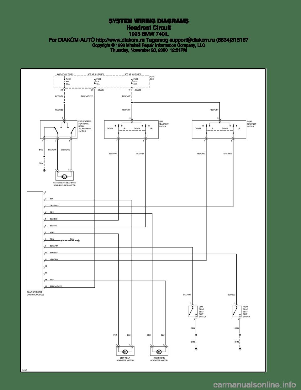 medium resolution of bmw wiring diagram e38 schema wiring diagrams bmw e38 suspension bmw 740i wiring diagram simple wiring