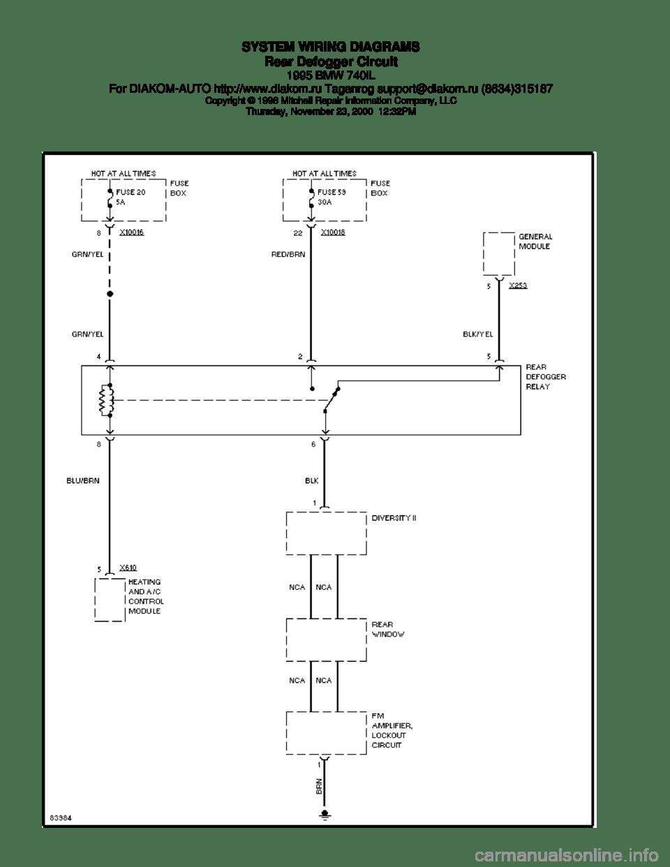 medium resolution of 2001 740il bmw e38 wiring diagram