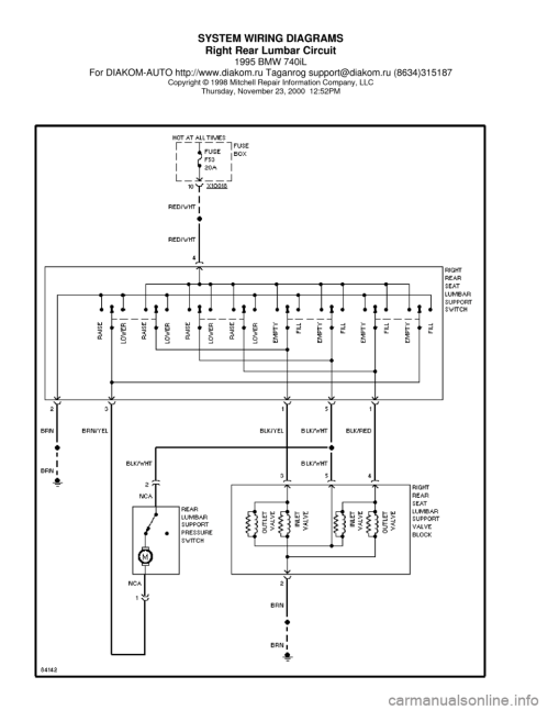 small resolution of bmw il fuse box diagram image wiring bmw 740il 1995 e38 system wiring diagrams on 1995
