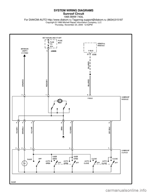 small resolution of 1998 bmw 740il wiring diagram 29 wiring diagram images wiring at wiring diagram for optronics led