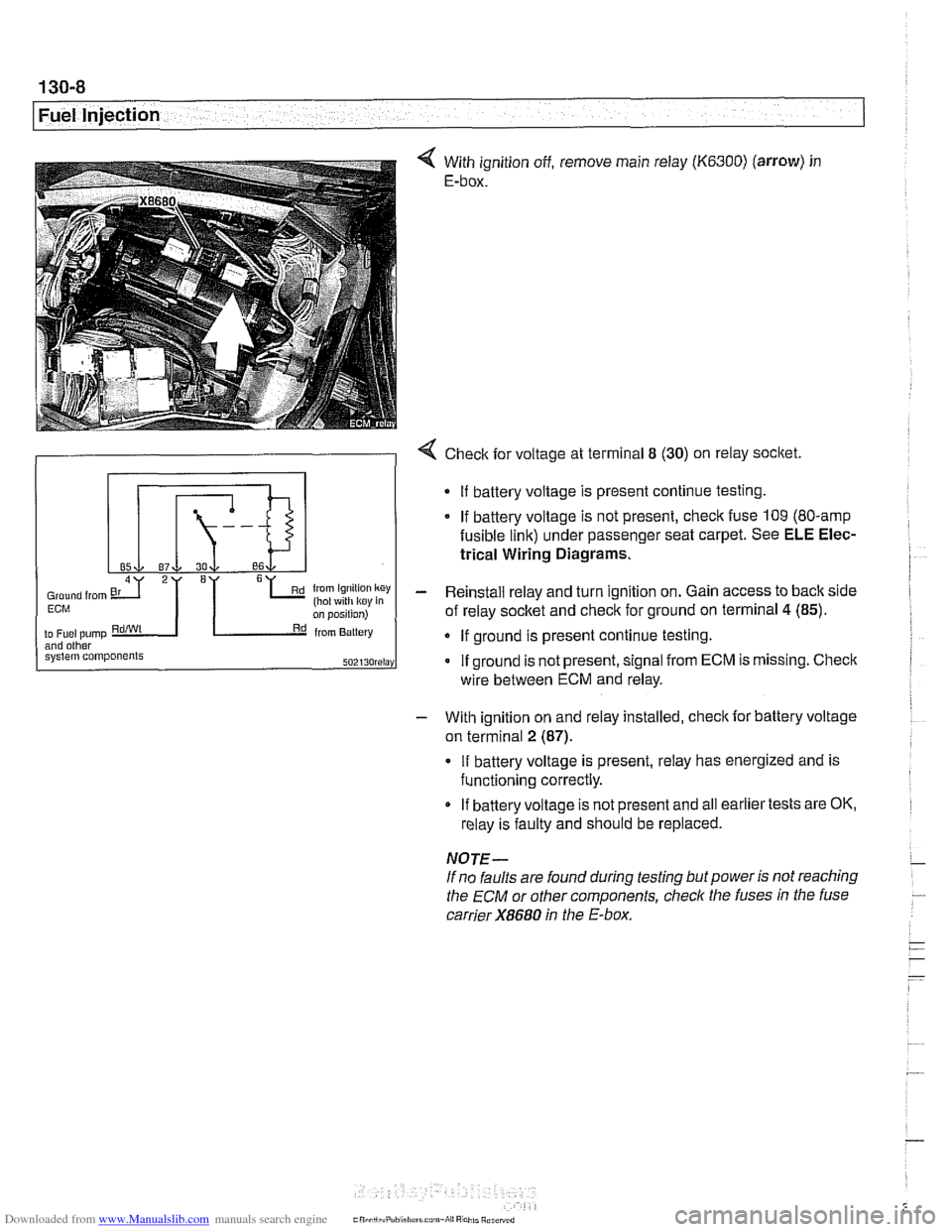 hight resolution of bmw 525i 2000 e39 workshop manual page 398