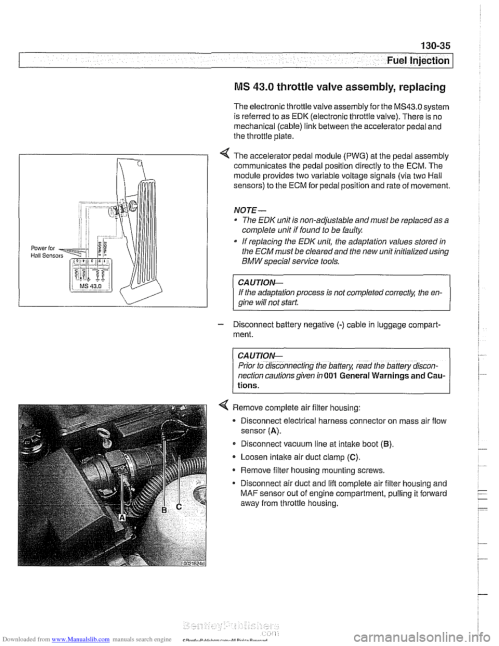 small resolution of bmw 528i 1998 e39 workshop manual page 425