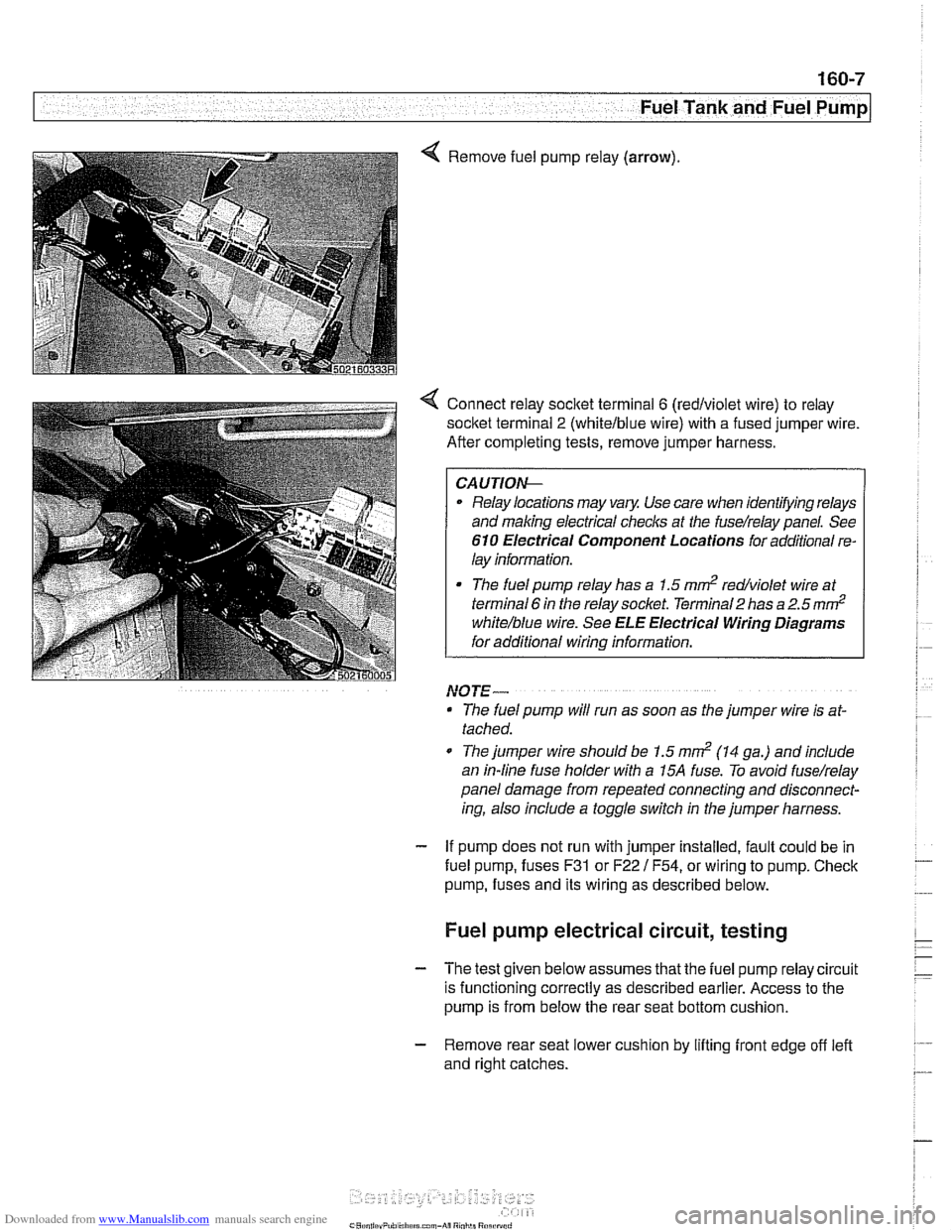 hight resolution of bmw 528i 1997 e39 workshop manual page 477