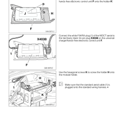 bmw 3 series 2002 e46 bluetooth hadsfree kit upgrade installation instruction manual [ 960 x 1358 Pixel ]
