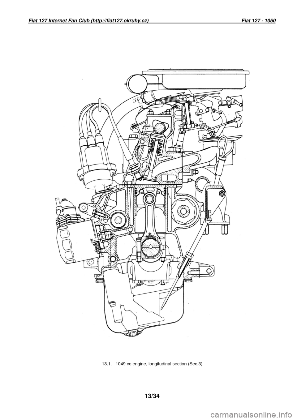 FIAT 127 1977 1.G Workshop Manual