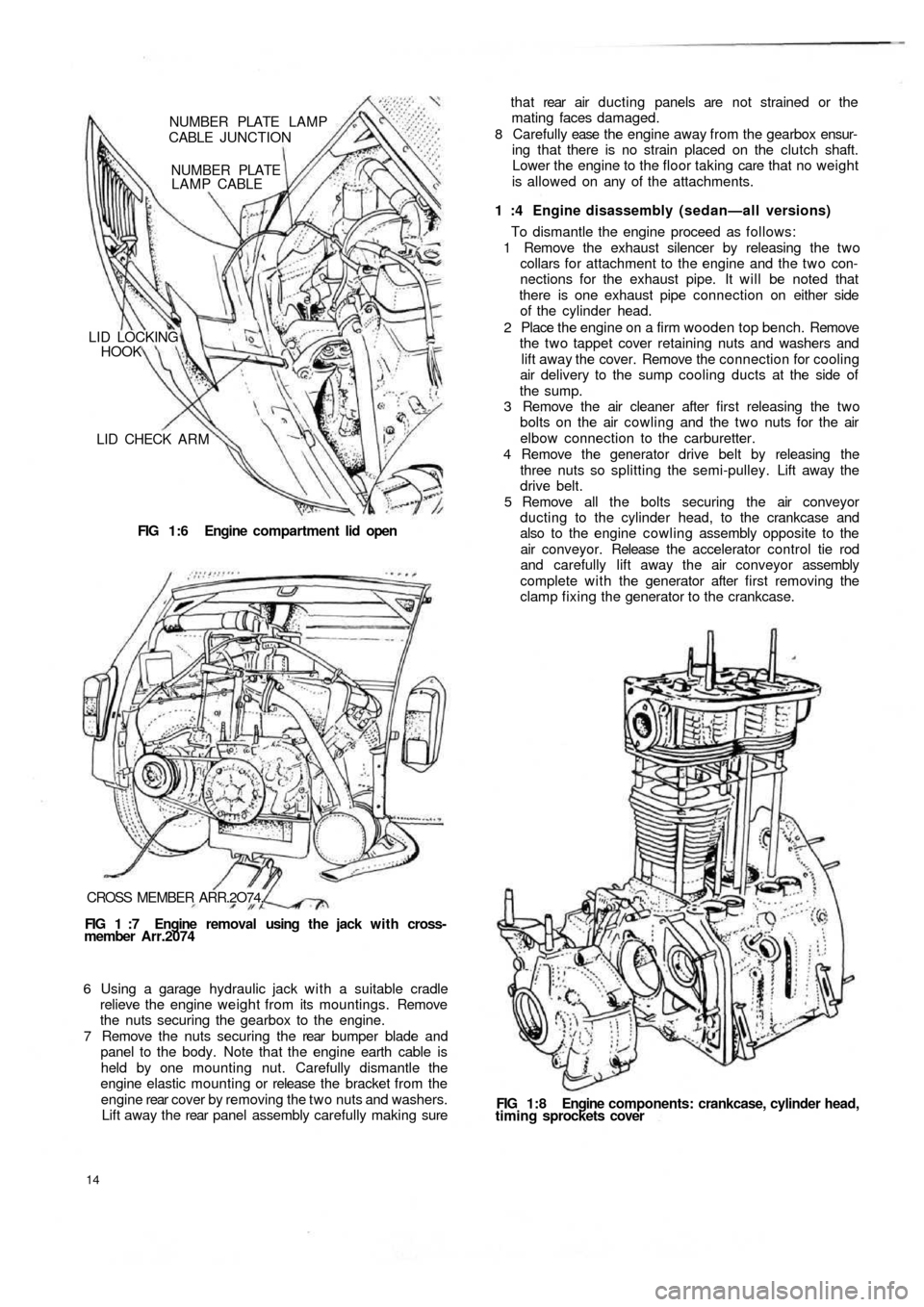 FIAT 500 1967 1.G Workshop Manual