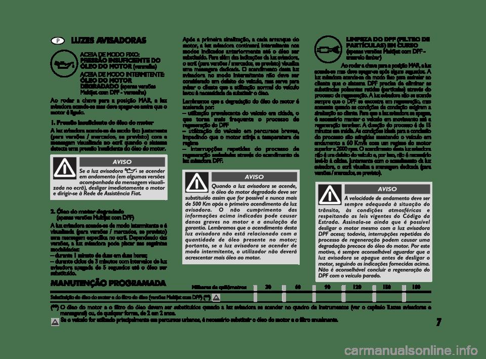 FIAT BRAVO 2009 2.G DPF Supplement Manual
