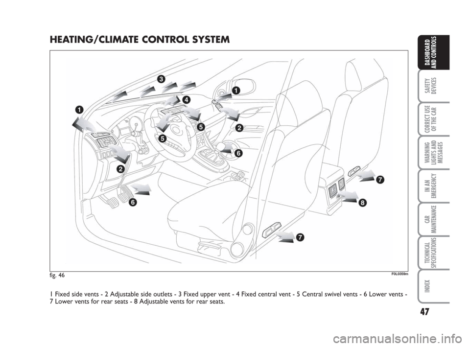 FIAT CROMA 2008 2.G Service Manual (258 Pages)