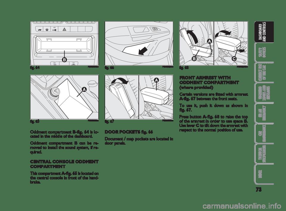 FIAT GRANDE PUNTO 2007 199 / 1.G Manual PDF (242 Pages)