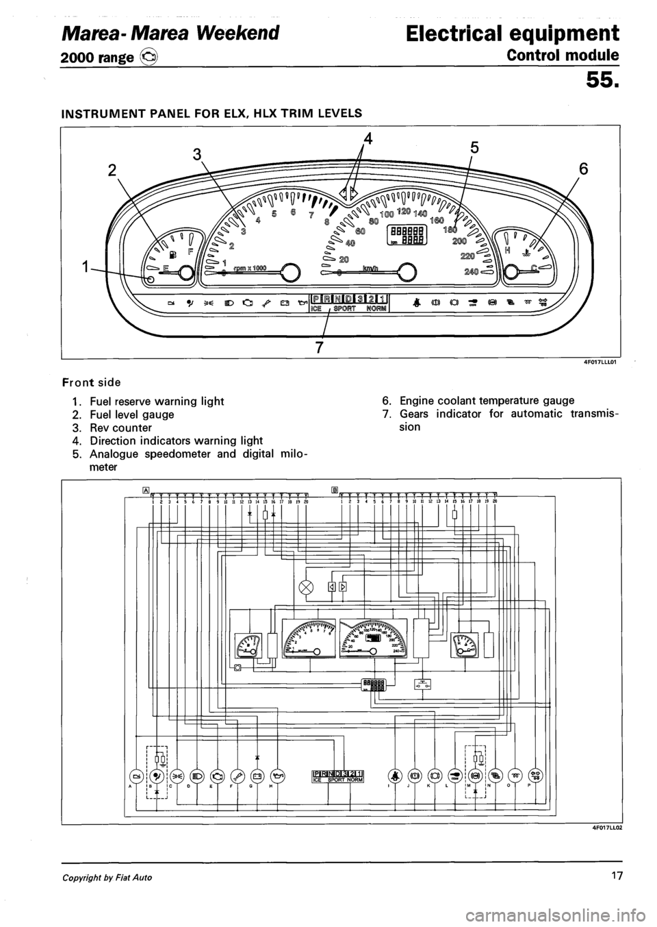 medium resolution of fiat marea 2000 1 g workshop manual page 147