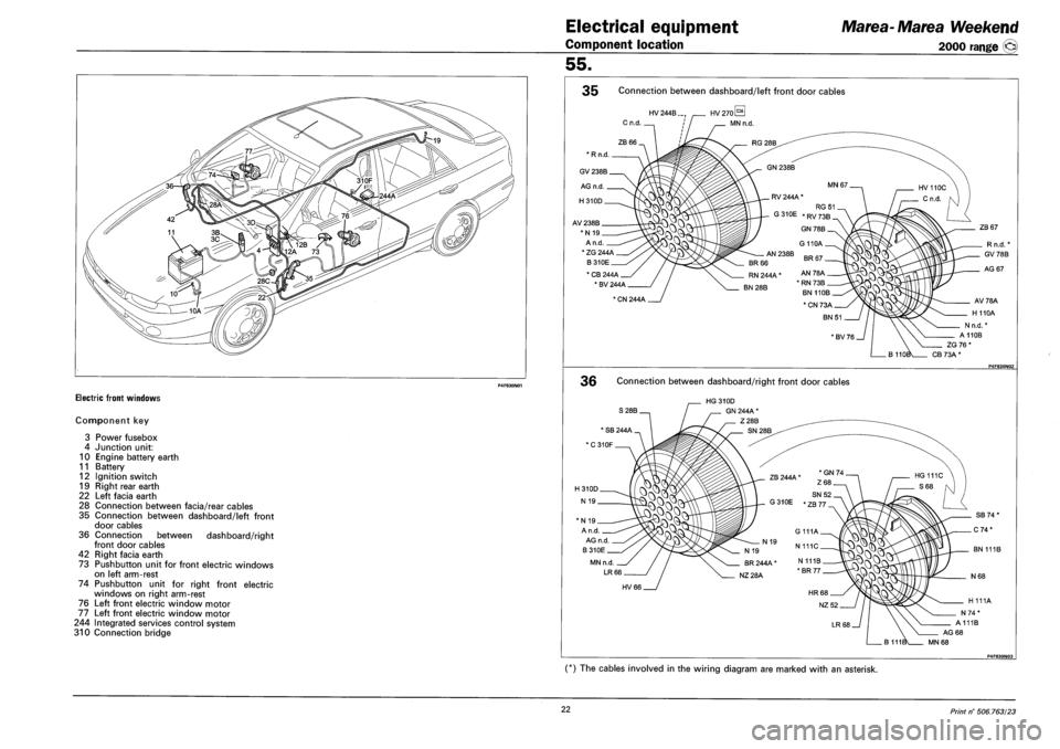 FIAT MAREA 2001 1.G Workshop Manual