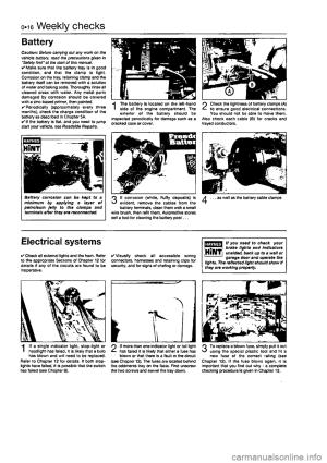 FIAT PUNTO 1997 176  1G Workshop Manual