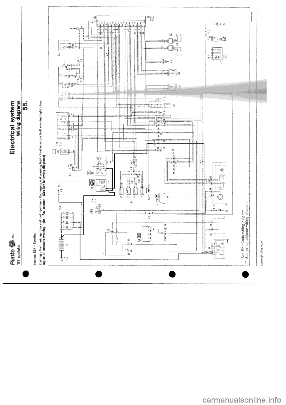 hight resolution of fiat punto 1997 176 1 g wiring diagrams workshop manual fiat wiring diagram load fiat