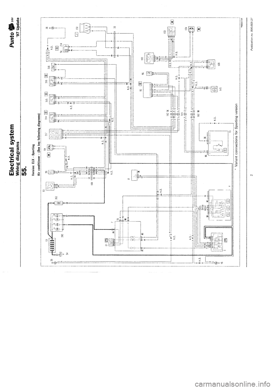 medium resolution of w960 4692 2 fiat punto 1997 176 1 g wiring diagrams workshop manual fiat