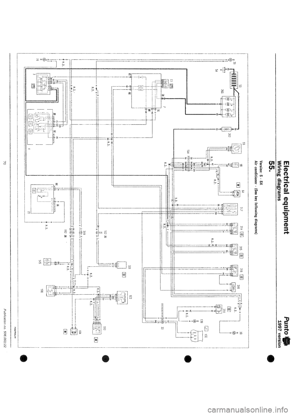 Starting Circuit Diagram For The 195254 Lincoln All Models