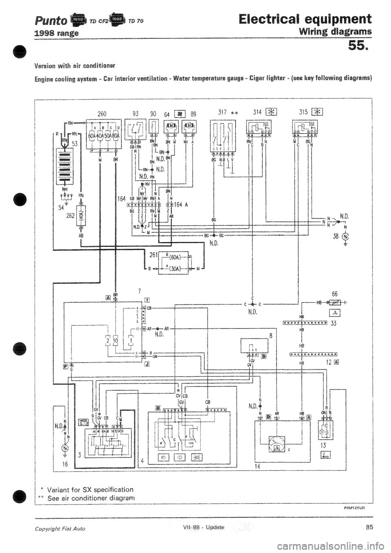 hight resolution of fiat punto ab wiring diagram
