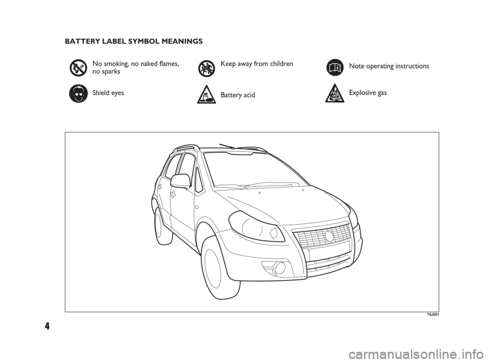 FIAT SEDICI 2007 2.G Owners Manual