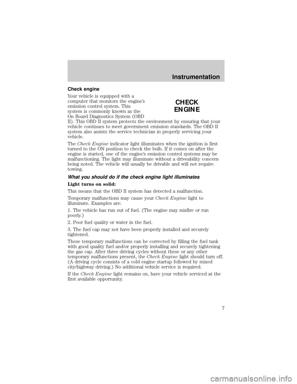 Service manual [Car Owners Manuals Free Downloads 1998