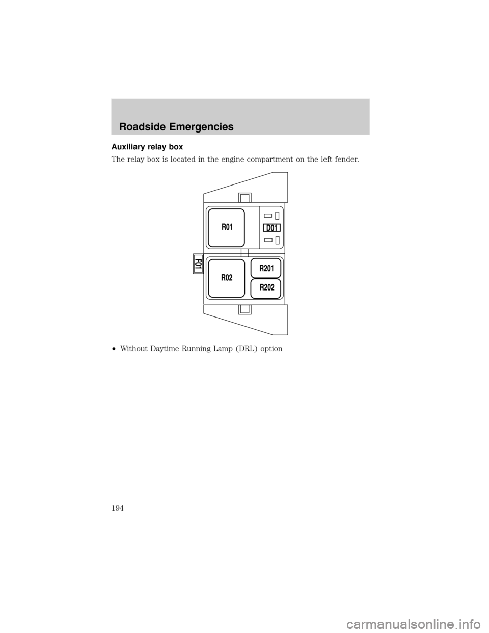 FORD F150 2004 11.G Owners Manual (280 Pages), Page 200