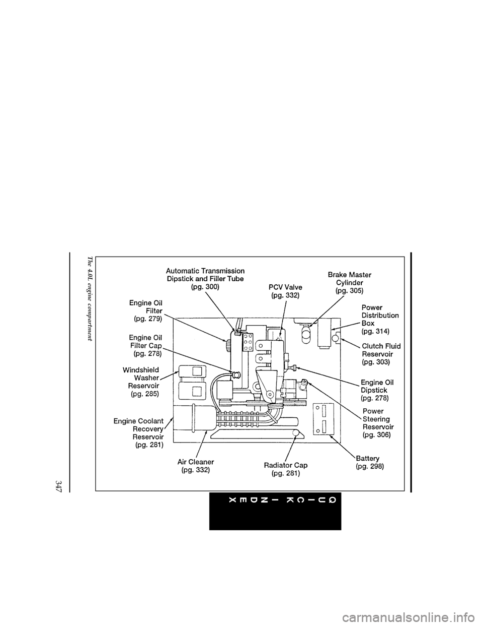 FORD RANGER 1996 2.G Owners Manual (369 Pages), Page 350
