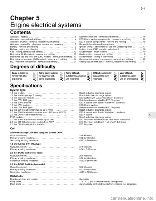small resolution of g engine electrical systems workshop manual