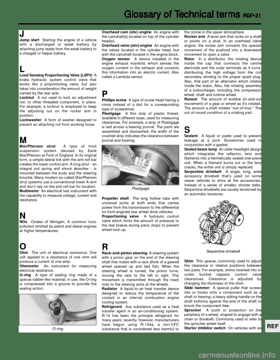 FORD SIERRA 1988 2.G Reference Workshop Manual