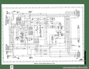 FORD SIERRA 1988 2G Wiring Diagrams Workshop Manual