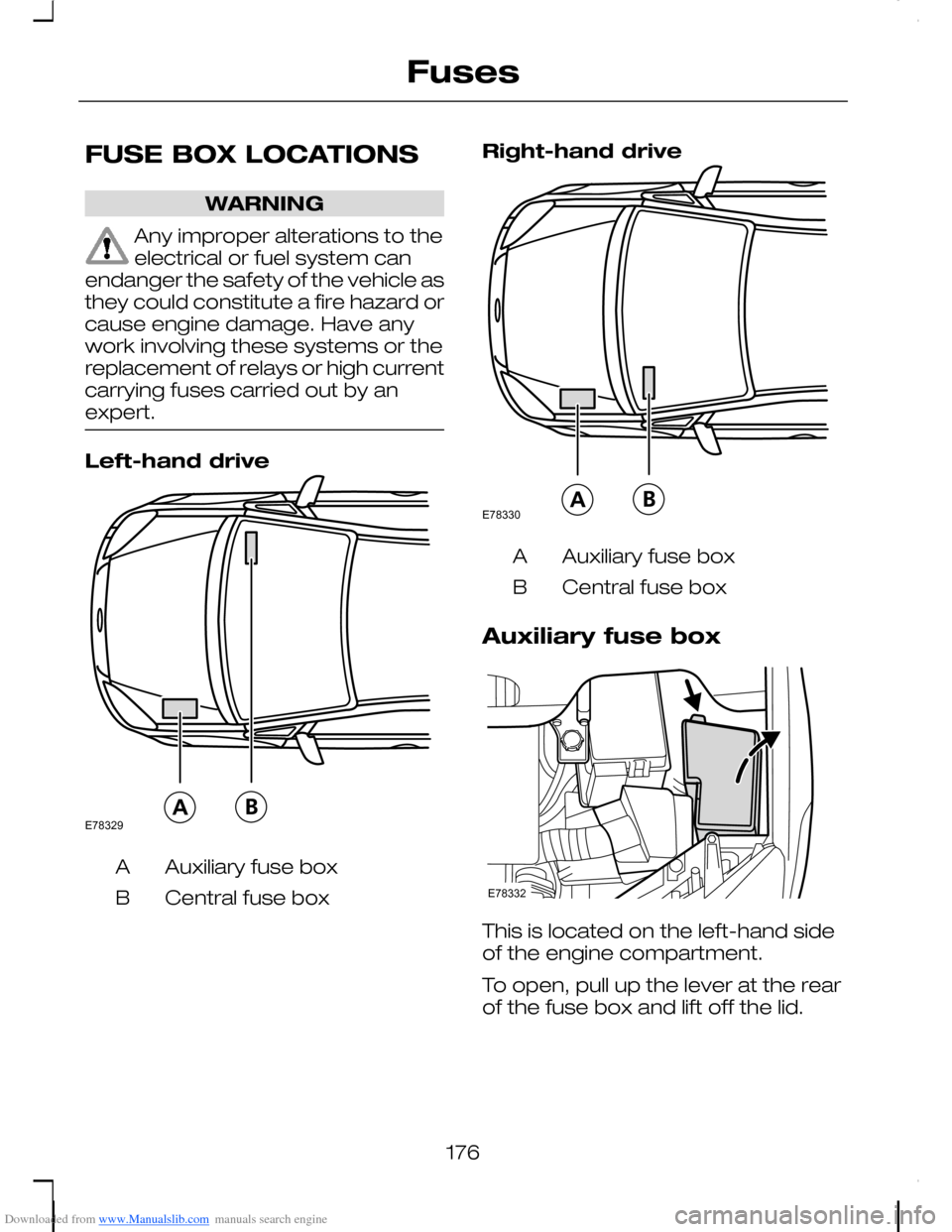 hight resolution of ford c max 2008 1 g owners manual page 178