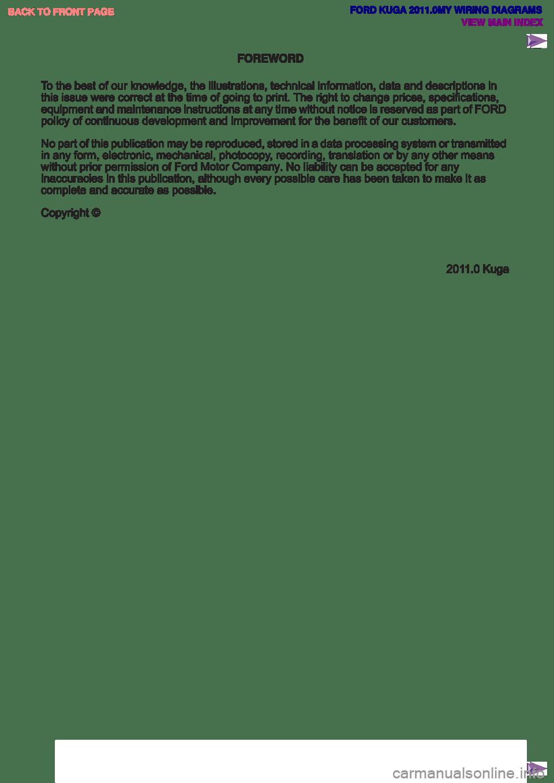 medium resolution of ford kuga 2011 1 g wiring diagram workshop manual