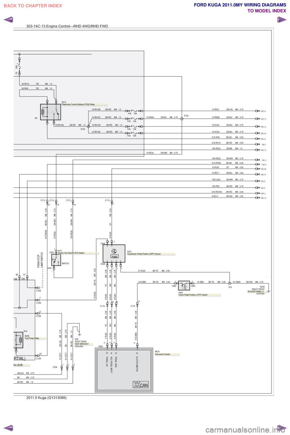 medium resolution of g wiring diagram workshop manual