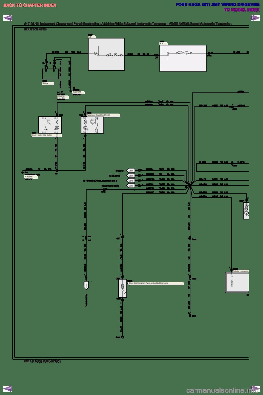 medium resolution of ford kuga 2011 1 g wiring diagram workshop manual page 319